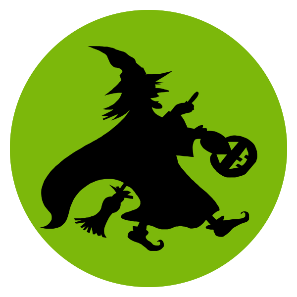 Green Witch Logo